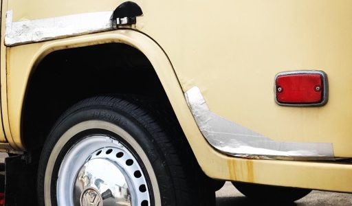 [DIY]タイヤのホイールをセルフペイントしてみました!やり方を紹介します。