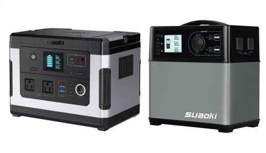 [必見!]suaoki ポータブル電源G500 [137700mAh/500Wh]を人気ポータブル電源と徹底比較!!
